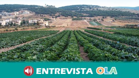 Jornaleros y jornaleras se han manifestado para exigir que se cumpla con la ley en las condiciones laborales de las campañas agrícolas