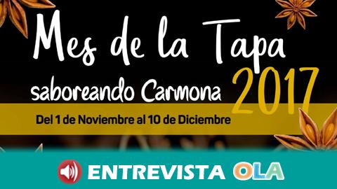 45 establecimientos participan en el Mes de la Tapa de Carmona que busca su mejor tapa del año