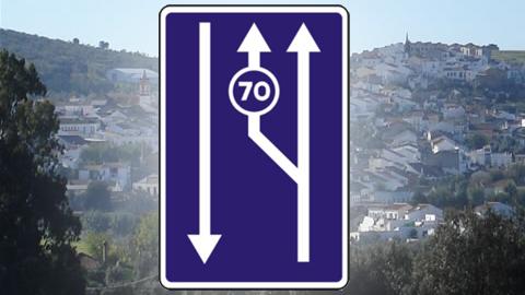 La carretera que une Castilblanco y Burguillos contará con un carril lento para evitar más accidentes en la zona