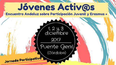 Puente Genil acogerá en diciembre el encuentro andaluz sobre participación juvenil 'Jóvenes Activ@s'