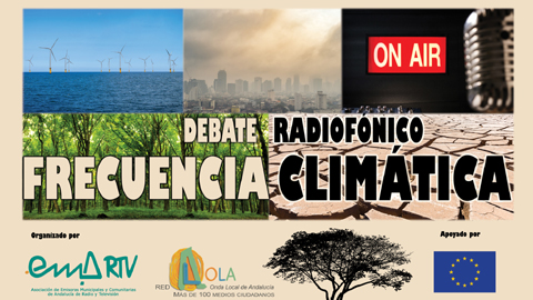 La Onda Local de Andalucía emite 'Frecuencia Climática' una serie de radio-debates en materia de sensibilización ambiental