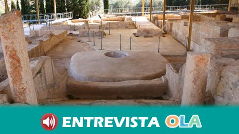 La Villa Romana 'El Ruedo' de Almedinilla es una de las más importantes de Andalucía por su extensión y la monumentalidad de sus estructuras
