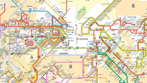 Las paradas de los autobuses interurbanos de Granada tendrán bluetooth para responder a las dudas de la ciudadanía