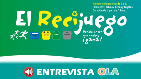 La Federación de Consumidores Al-Andalus distribuye entre la población escolar un juego para aprender a reciclar
