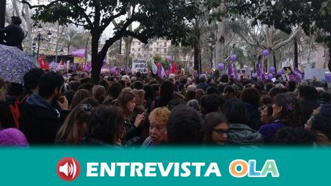 Los movimientos feministas en Andalucía preparan un encuentro para evaluar la huelga del 8M y comenzar estrategias para consolidar la fuerza que salió a las calles