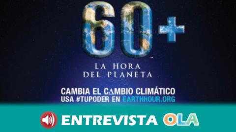 La organización ecologista WWF llama a la ciudadanía y a las administraciones a sumarse a la celebración de la Hora del Planeta el próximo 24 marzo