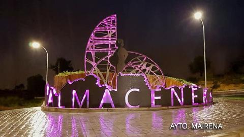 Mairena del Alcor inaugura un monumento que rinde homenaje a las mujeres almaceneras