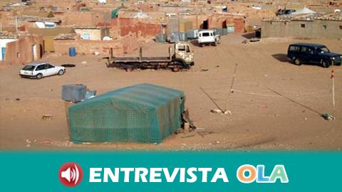 La situación en los campos de refugiados saharauis es precaria pero no de emergencia, según la Asociación de Amistad con el Pueblo Saharaui en Sevilla