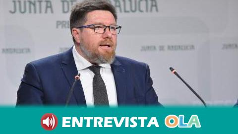 """""""Vamos a equilibrar la cadena agroalimentaria a través de la exigencia de calidad en los productos, que es lo que compete a la Consejería"""" Rodrigo Sánchez Haro, consejero de Agricultura"""
