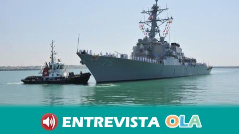 Ecologistas en Acción denuncia que si Rota pasa a ser base Atalanta fomentaría la inseguridad en la zona al convertirse en objetivo militar para otras potencias
