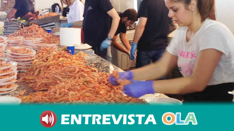 8 toneladas de marisco se van a consumir este fin de semana en la Feria Nacional de la Gamba, la Chirla y el Boquerón de Punta Umbría