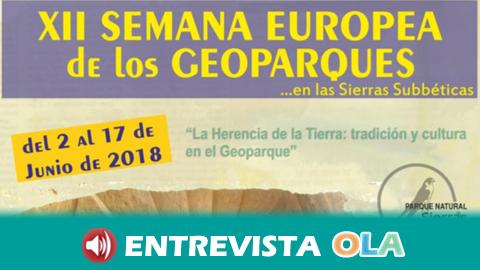 Las Sierras de las Subbéticas celebran la XII Semana Europea de los Geoparques con actividades culturales, de ocio y naturaleza