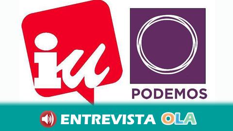 Podemos e IU confluyen en 'Adelante Andalucía' para crear un bloque electoral abierto a otras formaciones y descartan que se trate de un nuevo partido político