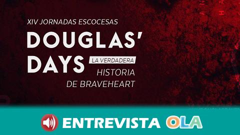 La localidad malagueña de Teba celebra sus Jornadas Escocesas Douglas' Days ambientadas en la época medieval