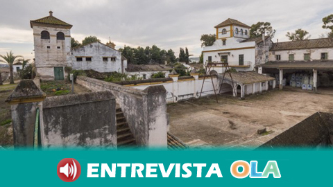 El Sindicato Andaluz de Trabajadores ocupa el cortijo regalado a Queipo de Llano en Camas en la víspera del aniversario del asesinato de Blas Infante