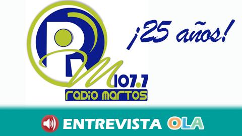 La emisora municipal Radio Martos cumple 25 años desde su puesta en marcha convertida en referente y vínculo de unión entre los marteños y marteñas