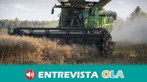 Miguel López, secretario general de COAG, advierte de que los bajos precios de los productos agrícolas están lastrando la economía de los productores, así como el empleo y la innovación