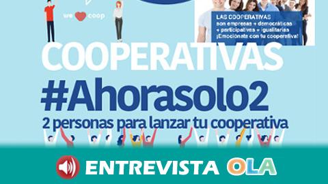 FAECTA impulsa la campaña 'Lanza tu cooperativa con un par' para promover la constitución de nuevas entidades de este tipo en nuestra tierra