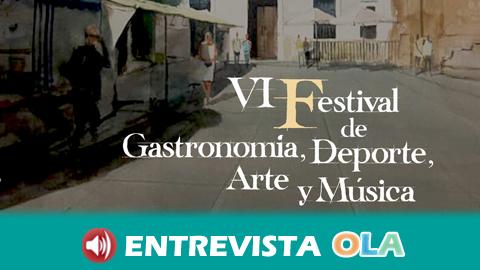El VI Festival de Gastronomía, Deporte, Arte y Música pone en valor los atractivos de El Cerro de Andévalo