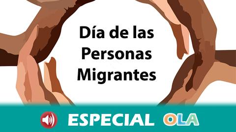 El Día de las Personas Migrantes nos recuerda la necesidad de no criminalizar los hechos migratorios ya que son algo inherente a la historia de la Humanidad