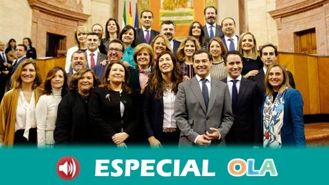 Partido Popular y Vox se reúnen para avanzar en un acuerdo que lleve a la investidura de Juanma Moreno en Andalucía