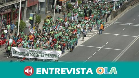 Marea Verde alerta de que el acuerdo entre PP-Cs-VOX quiere degradar y privatizar la educación pública andaluza