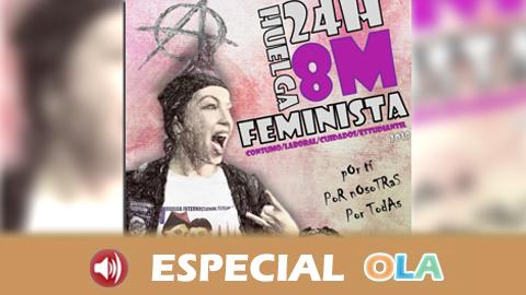 SAT y CGT recuerdan que cualquier persona puede secundar la huelga feminista de 24 horas del 8 de marzo aunque no haya representación sindical en su lugar de trabajo