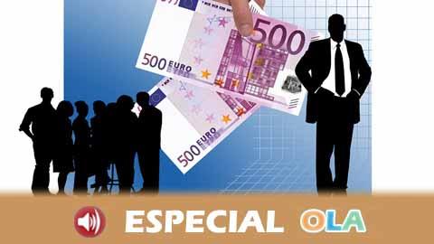 Los costes laborales en Andalucía son los más bajos de todo el país