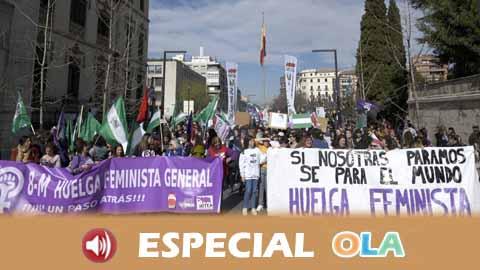 El papel de las 'piquetas' durante la Huelga Feminista