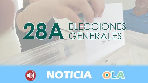 Las diferentes fuerzas políticas se pronuncian sobre los resultados de las elecciones generales