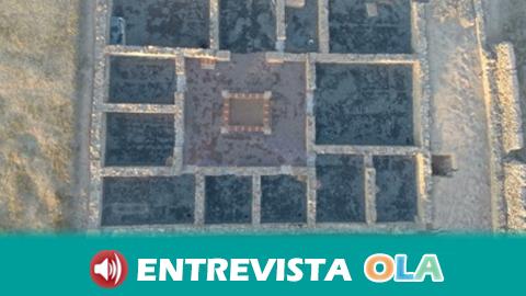 La ciudad hispanorromana de Arucci Turóbriga es el único asentamiento romano de la Sierra de Huelva calificado como núcleo urbano