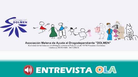 La Asociación cordobesa DOLMEN destaca la importancia de la información desde las escuelas para prevenir las adicciones entre la juventud