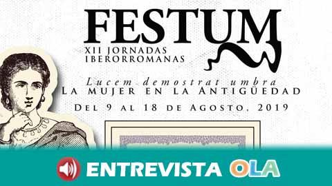 Las Jornadas Iberorromanas FESTUM, en Almedinilla, rinde homenaje a la mujer en la antigüedad