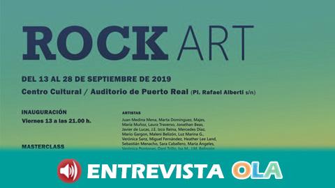 Rock y artes gráficas se dan la mano en el paseo marítimo de Puerto Real gracias a la cuarta edición del Festival Rock Art