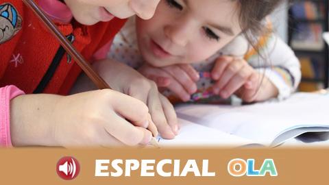 El curso escolar en Infantil, Primaria y Educación Especial comienza con más de 800.000 matrículas