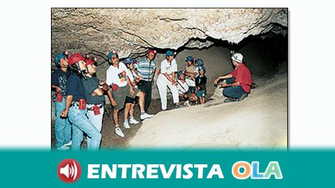 Las cuevas de Sorbas, en Almería, son las únicas cuevas de yeso que hay en España