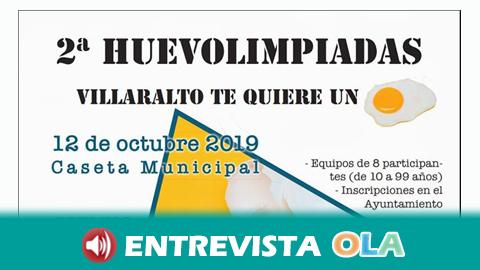 El municipio cordobés de Villaralto acoge la segunda edición de las Huevolimpiadas y la Huevada Ecológica