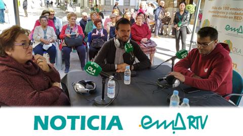La caravana radiofónica del proyecto «Mayores en la Onda» de EMA-RTV finaliza su recorrido visitando la localidad cordobesa de Fernán Núñez