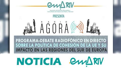 El proyecto 'Radio Ágora' de EMA-RTV continúa en Sevilla y La Línea (Cádiz) sus debates radiofónicos sobre las políticas europeas de cohesión