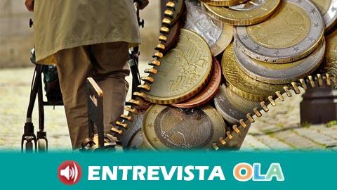Las personas pensionistas de Córdoba se manifiestan para denunciar las escasas garantías del sistema público de pensiones