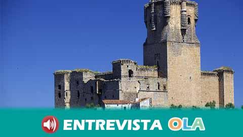 La Torre del Homenaje del castillo de Belalcázar, en Córdoba, es la más alta de la península Ibérica