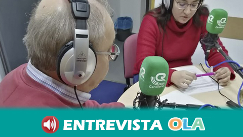 Alfonso Porcel reconocido con el premio Cantillanero del Año por su labor y participación en la radio local