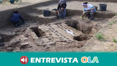 Una pequeña pileta, perteneciente a la época fenicia, es descubierta en el yacimiento de Acebedo, uno de los más importantes de la provincia de Málaga