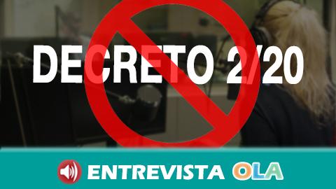 Más de 80 colectivos acuden al Defensor del Pueblo Español para que interponga un recurso contra el decreto de la Junta de Andalucía que modifica 27 leyes sin discusión parlamentaria