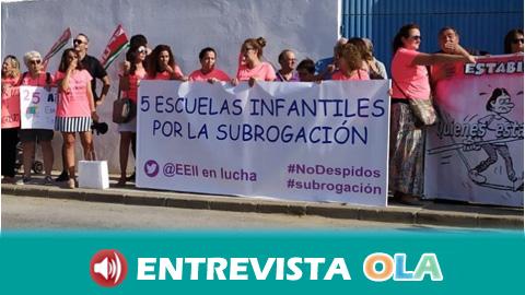 Las primeras sentencias declaran como improcedentes tres de los 73 despidos de trabajadoras de escuelas infantiles de Andalucía