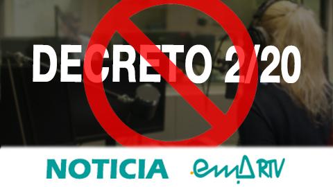 Amplio rechazo al Decreto-Ley 2/20 de la Junta de Andalucía que afecta a 21 leyes y contempla la privatización de las emisoras municipales