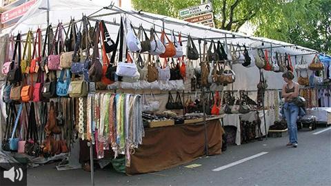 La venta ambulante se encuentra en una situación límite y reclama medidas de apoyo