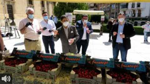 La VIII Muestra Provincial de la Cereza recorre siete municipios dentro de la estrategia Degusta Jaén