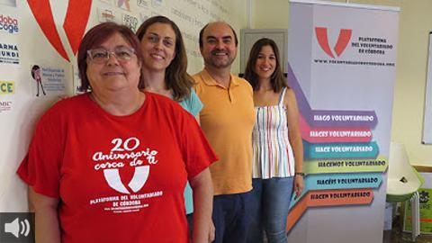 La Escuela de Verano de la Plataforma del Voluntariado de Córdoba aporta animación hospitalaria pediátrica, mediación intercultural y dinamización sociocultural