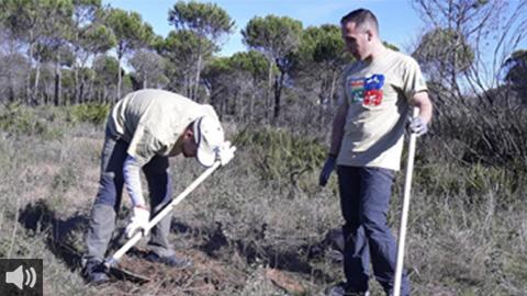 La localidad granadina de Montefrío forma a jóvenes en materia de agricultura y ganadería para propiciar el relevo generacional
